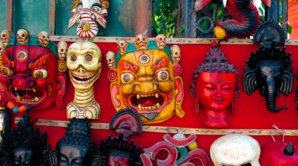 Nepal featuring art, shopping and a statue or sculpture