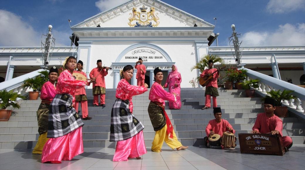 Johor featuring street performance and performance art