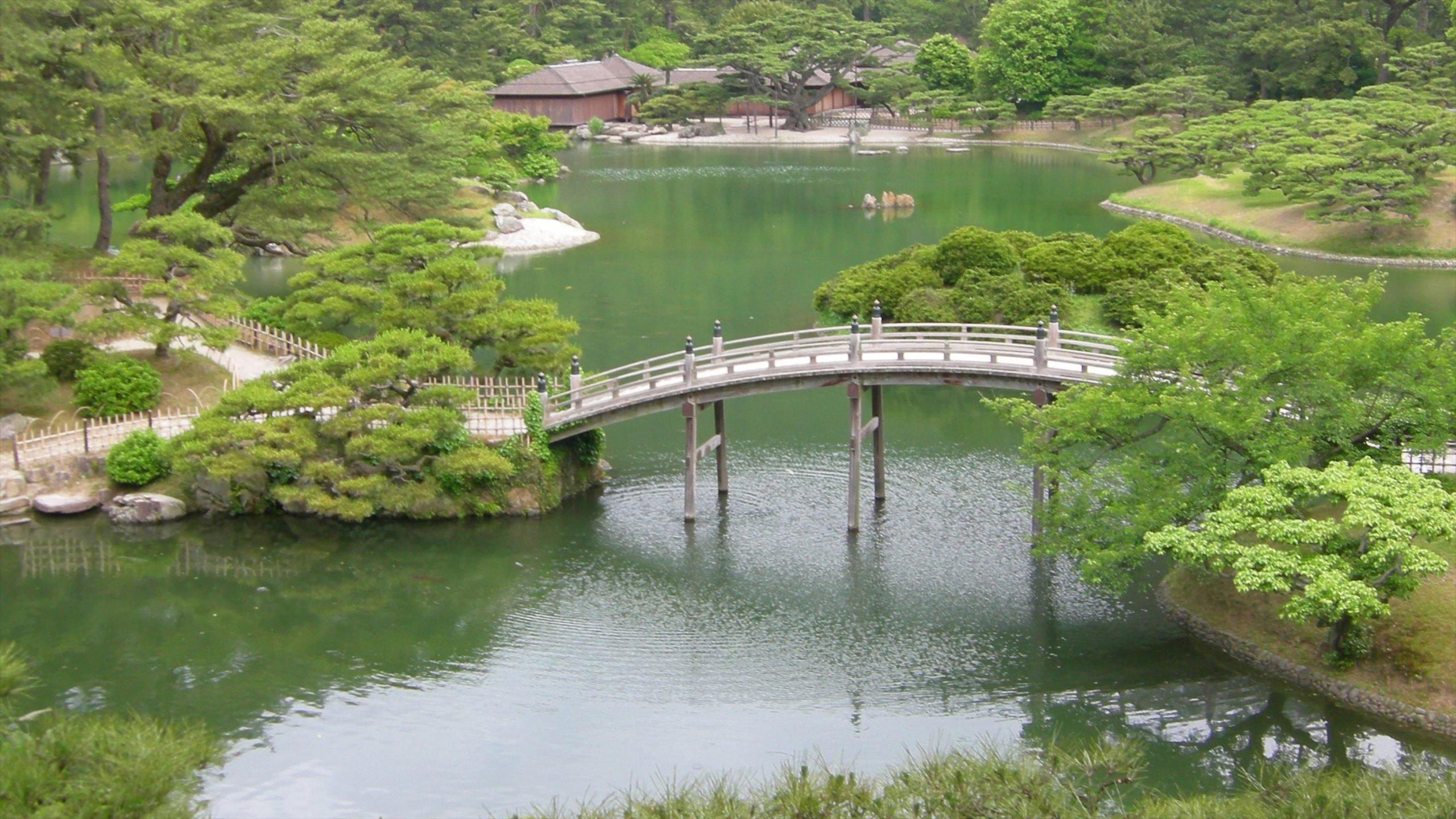 Ritsurin Garden, Takamatsu, Kagawa Prefecture, Japan