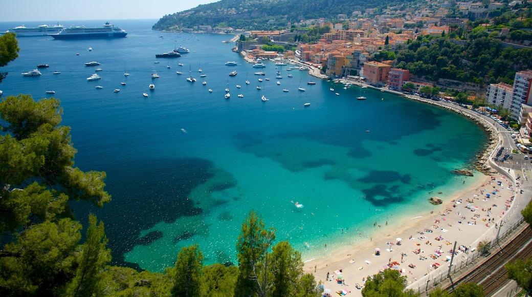 French Riviera showing cruising, a coastal town and general coastal views