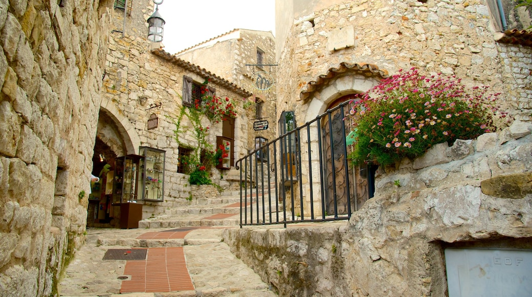 French Riviera featuring heritage elements, heritage architecture and street scenes