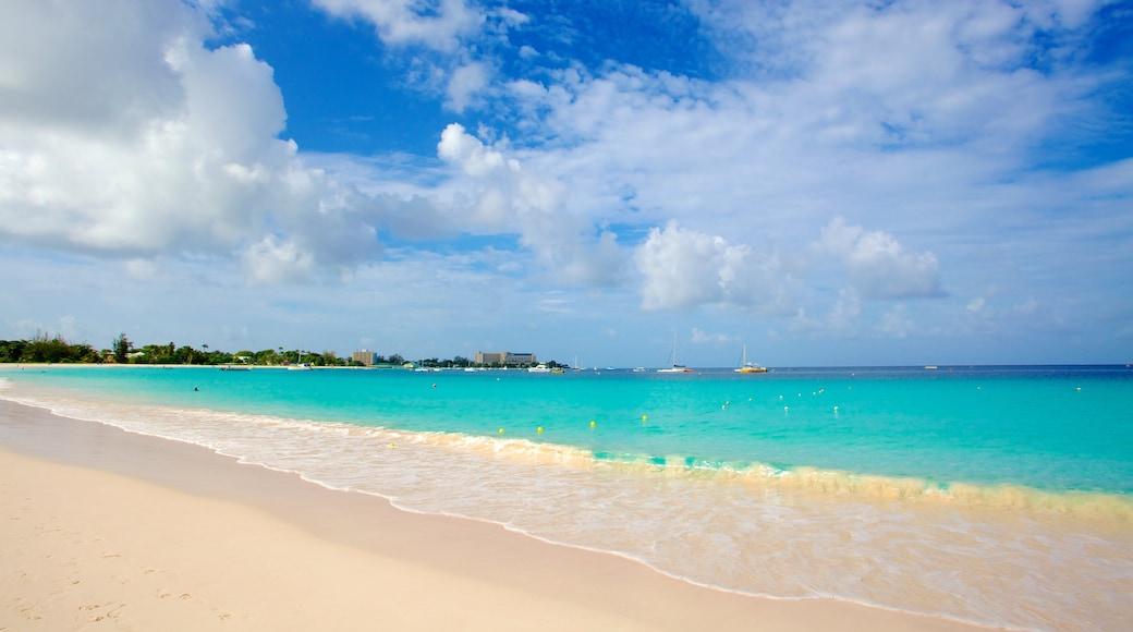 Bridgetown which includes a beach and general coastal views