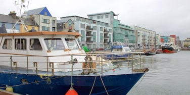 Galway Harbour which includes a river or creek, a marina and boating