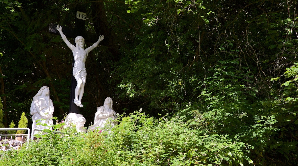 Tobernalt Holy Well which includes a park and a statue or sculpture