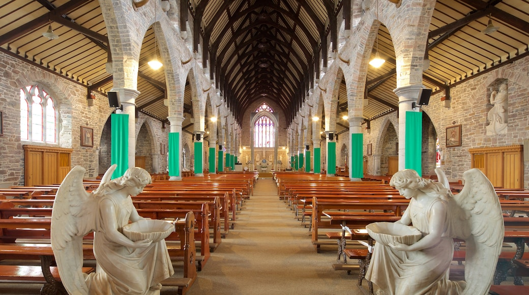 St. John\'s Parish which includes a statue or sculpture, a church or cathedral and heritage architecture