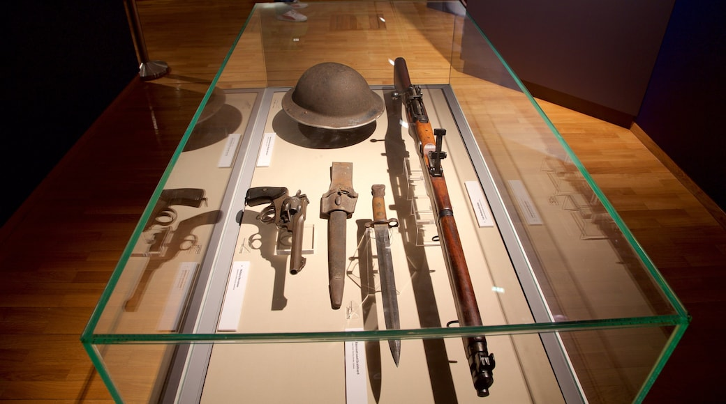 Galway City Museum which includes military items and interior views
