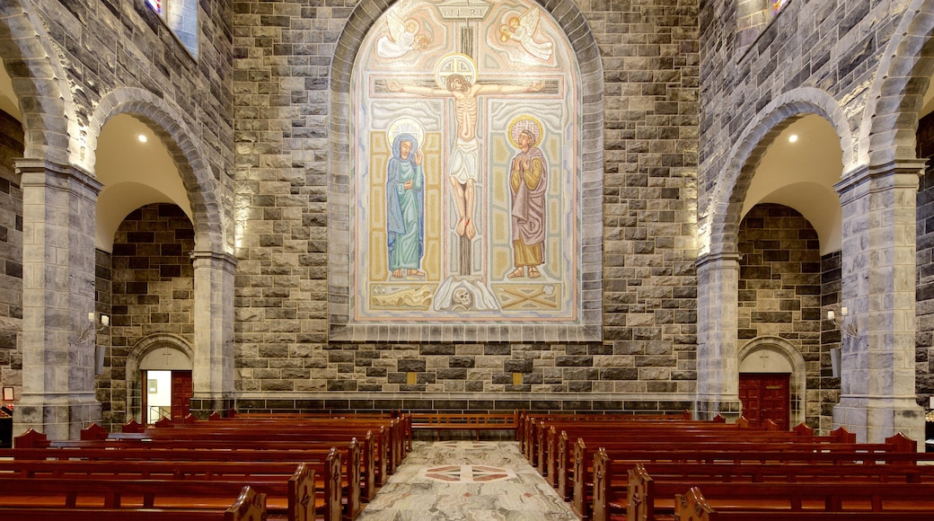 Galway Cathedral showing a church or cathedral, interior views and heritage elements