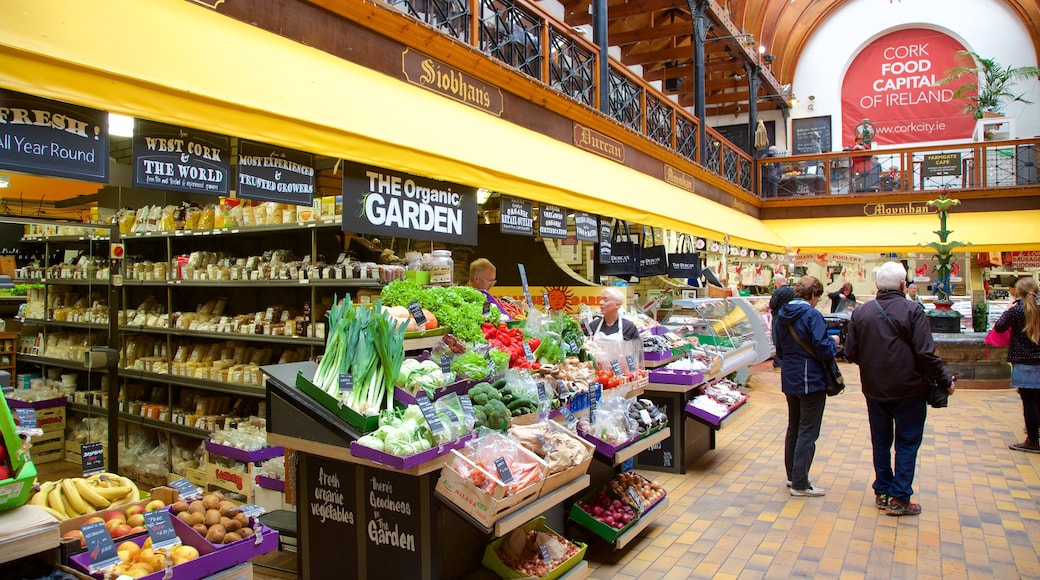 English Market showing food, markets and interior views