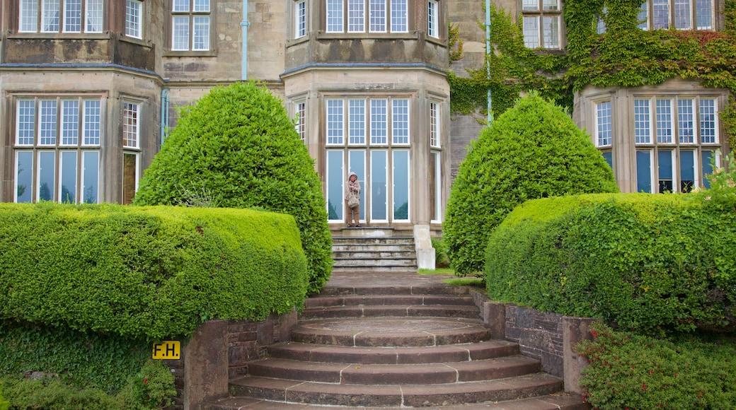 Muckross House welches beinhaltet historische Architektur, Geschichtliches und Burg