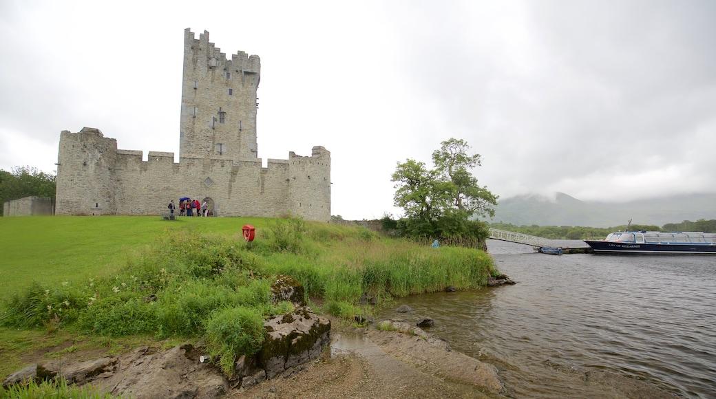 Ross Castle welches beinhaltet Burg, Geschichtliches und historische Architektur