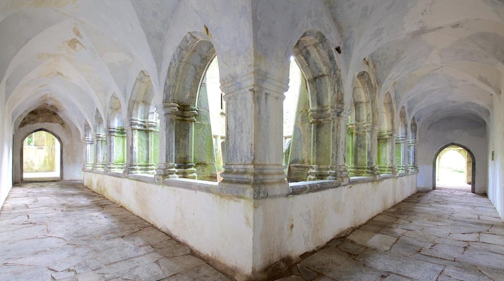 Muckross Abbey das einen Burg, historische Architektur und Innenansichten