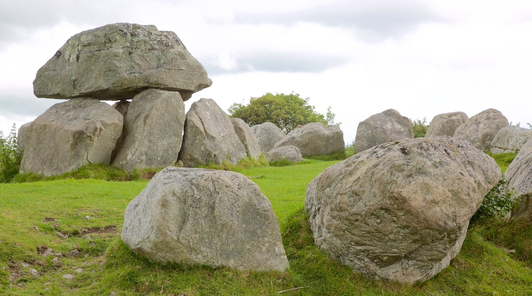 Carrowmore Megalithic Cemetery featuring a cemetery and heritage elements