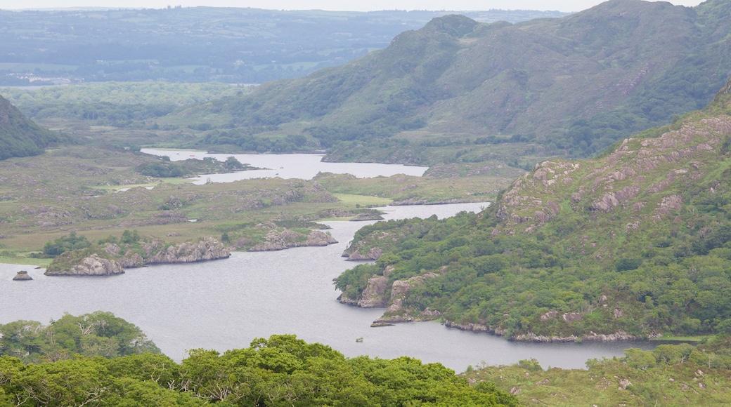 Ladies View mit einem Berge, See oder Wasserstelle und ruhige Szenerie