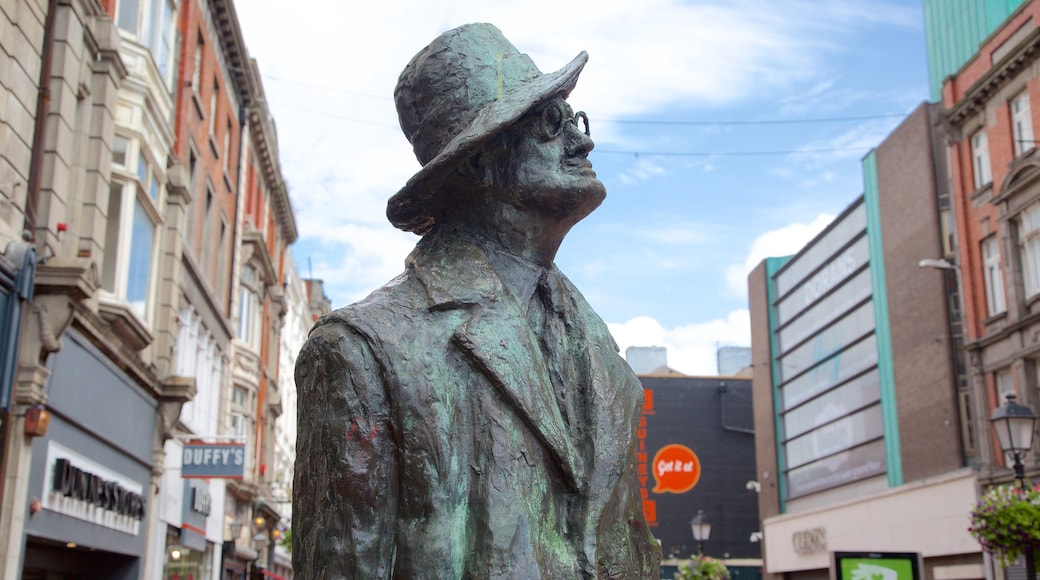 Dublin featuring heritage elements, a statue or sculpture and a monument