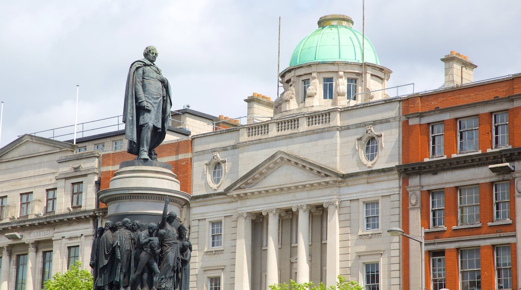 Dublin which includes a monument and a statue or sculpture