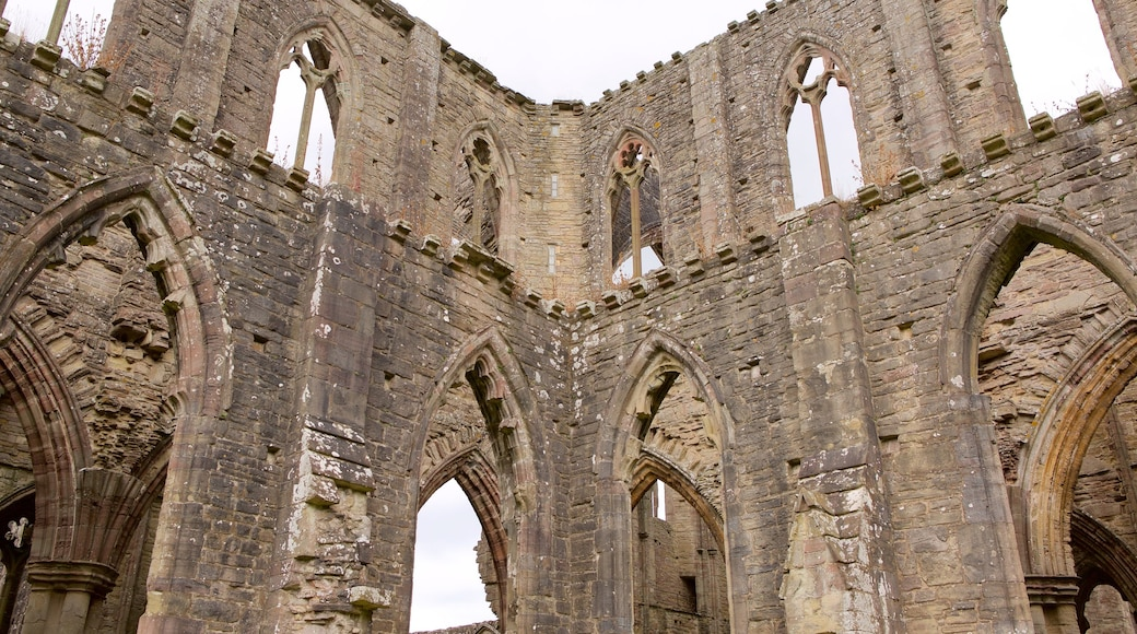 Tintern Abbey featuring building ruins, heritage architecture and heritage elements