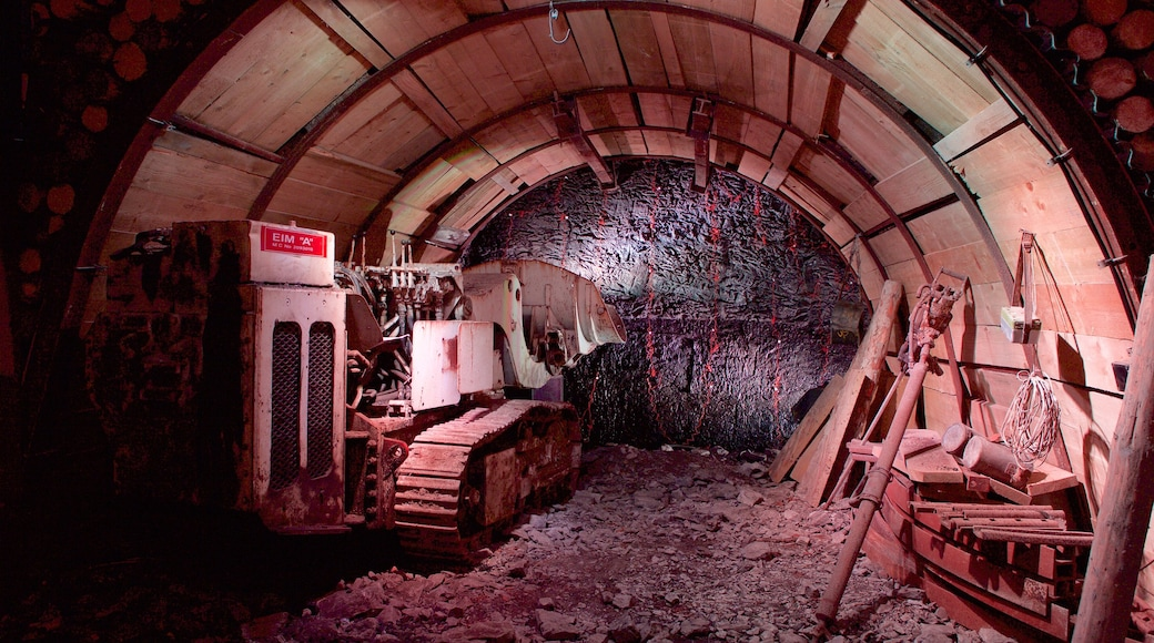 Big Pit National Coal Museum showing interior views
