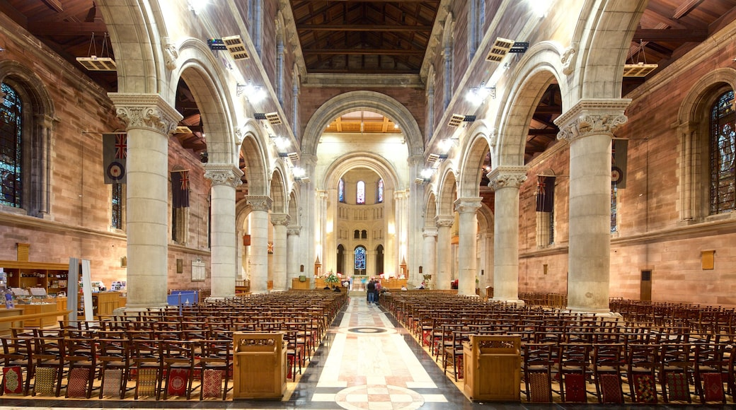 St. Anne\'s Cathedral featuring interior views, a church or cathedral and religious aspects