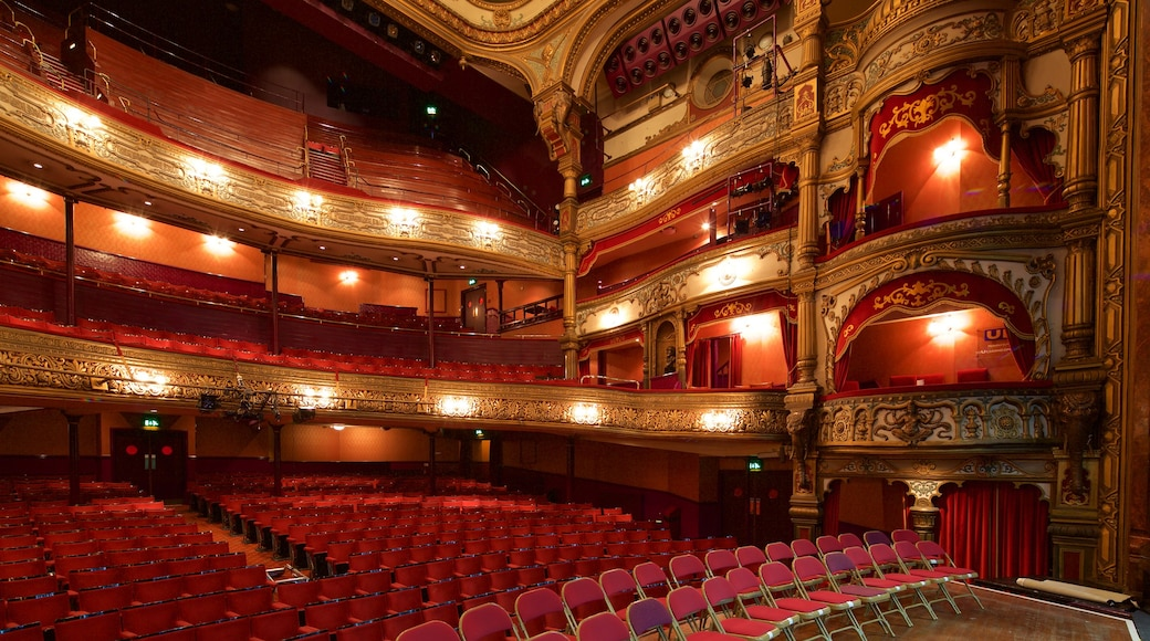 Grand Opera House showing theatre scenes, heritage elements and interior views