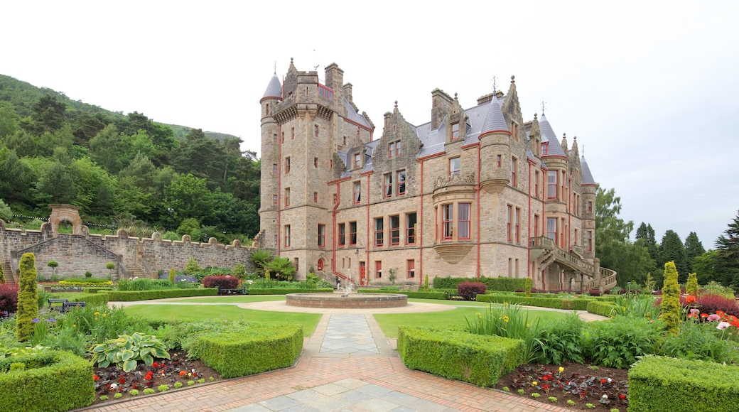 Belfast Castle which includes heritage elements, a park and a castle