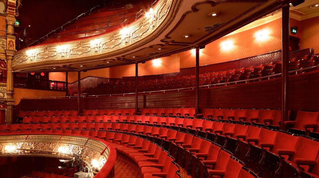 Grand Opera House featuring theatre scenes, heritage architecture and interior views