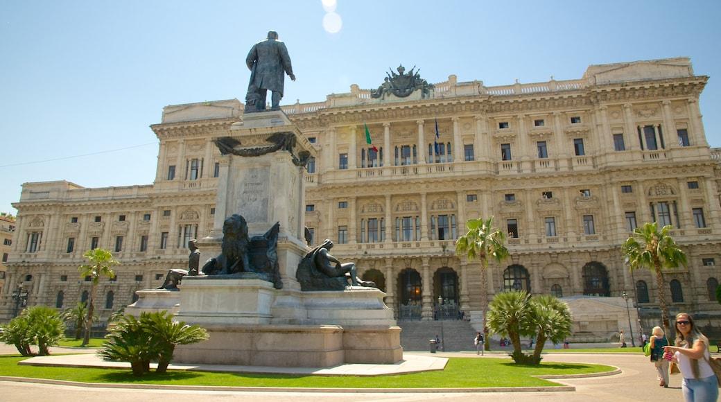 Prati mettant en vedette monument, bâtiment public et ville