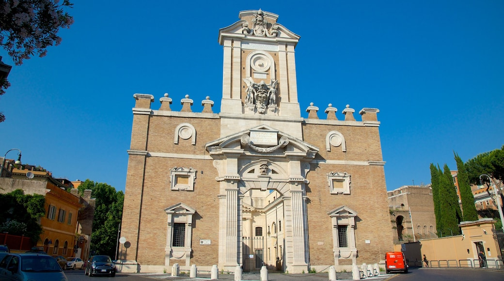 Via XX Settembre which includes a church or cathedral, heritage elements and heritage architecture