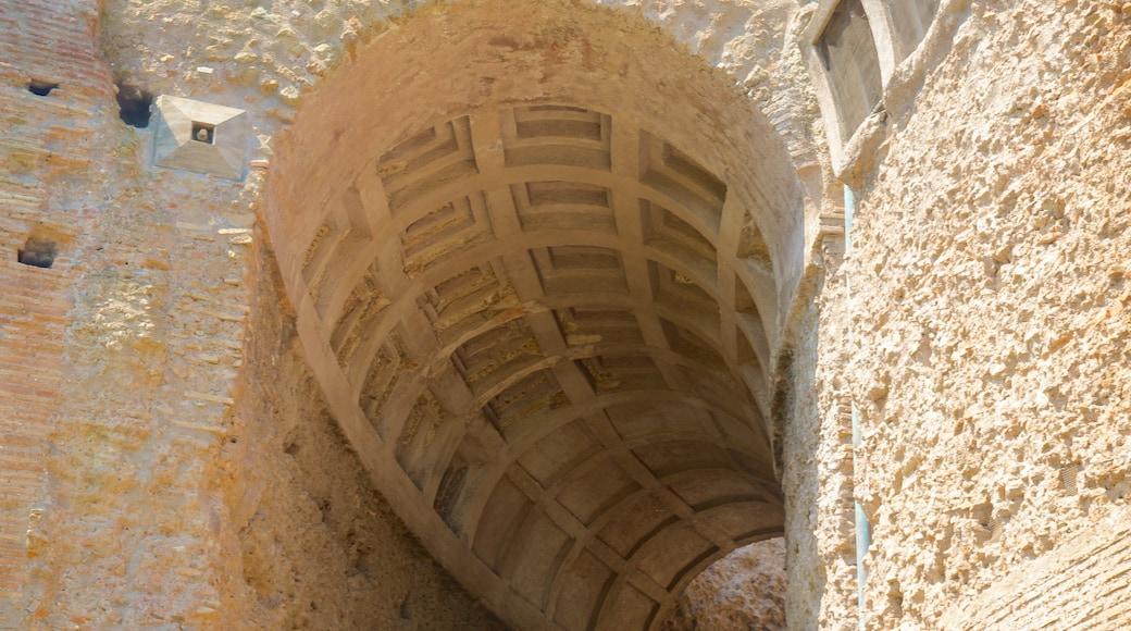 Monti fasiliteter samt bygningsruiner, kulturarv og historisk arkitektur