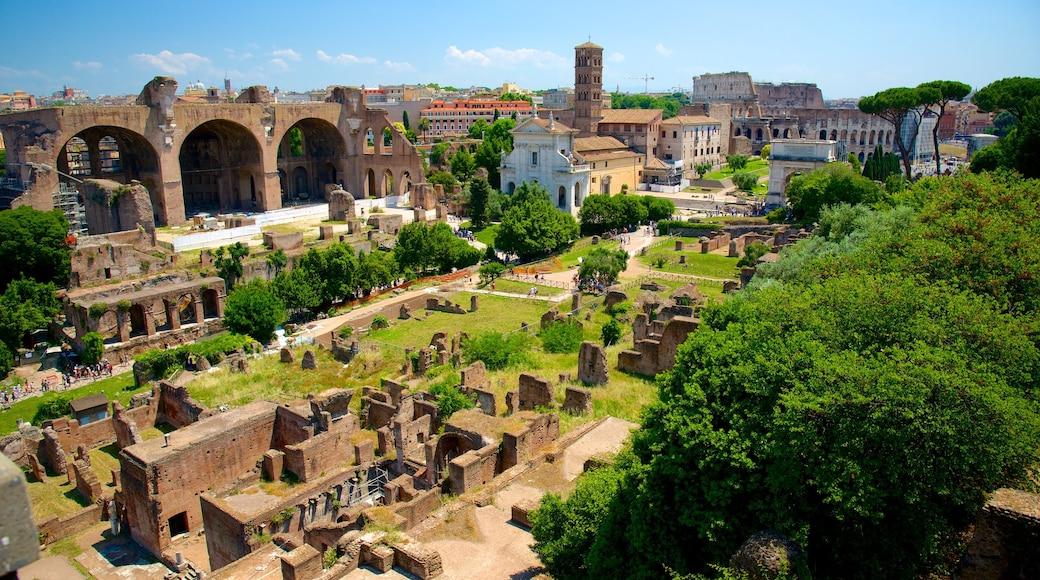 Monti som viser historisk arkitektur, ruiner og kulturarv