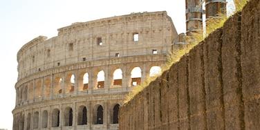 Monti bevat een ruïne, historische architectuur en historisch erfgoed