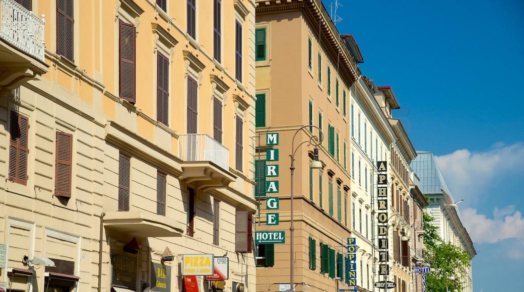 Via Marsala featuring a city