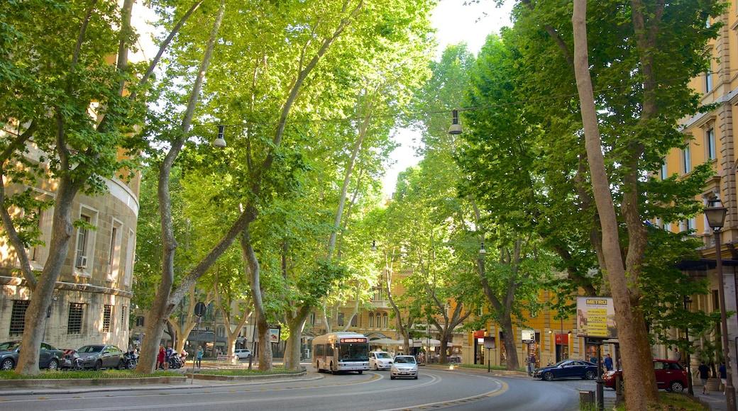 Via Veneto caratteristiche di città e strade