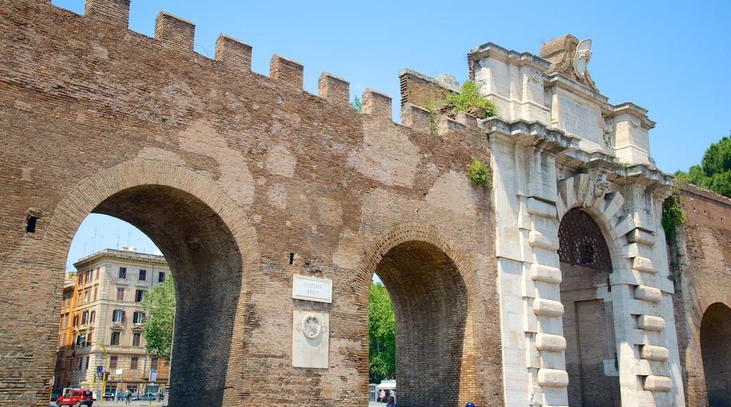 San Giovanni qui includes château, patrimoine historique et patrimoine architectural