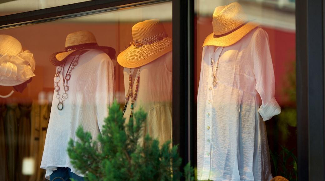 Asheville showing shopping