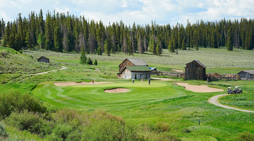 Keystone which includes forest scenes and golf