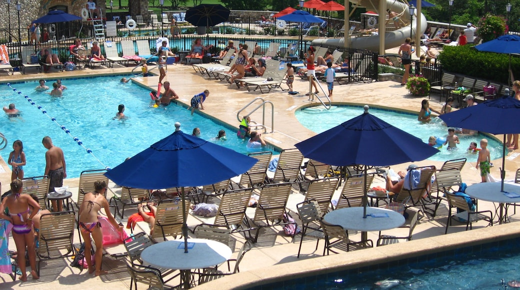 Holiday Valley Ski Area featuring swimming, a pool and a waterpark