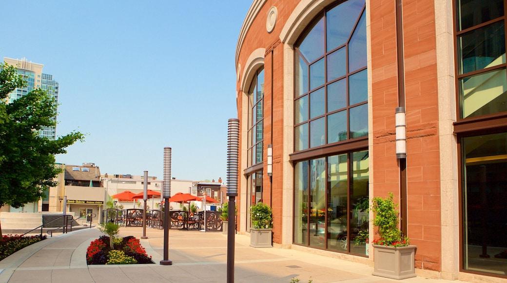 Rose Theatre mit einem Straßenszenen