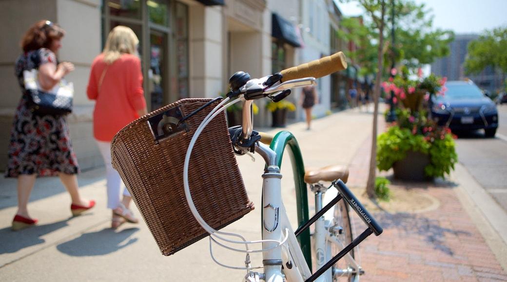 Oakville featuring street scenes