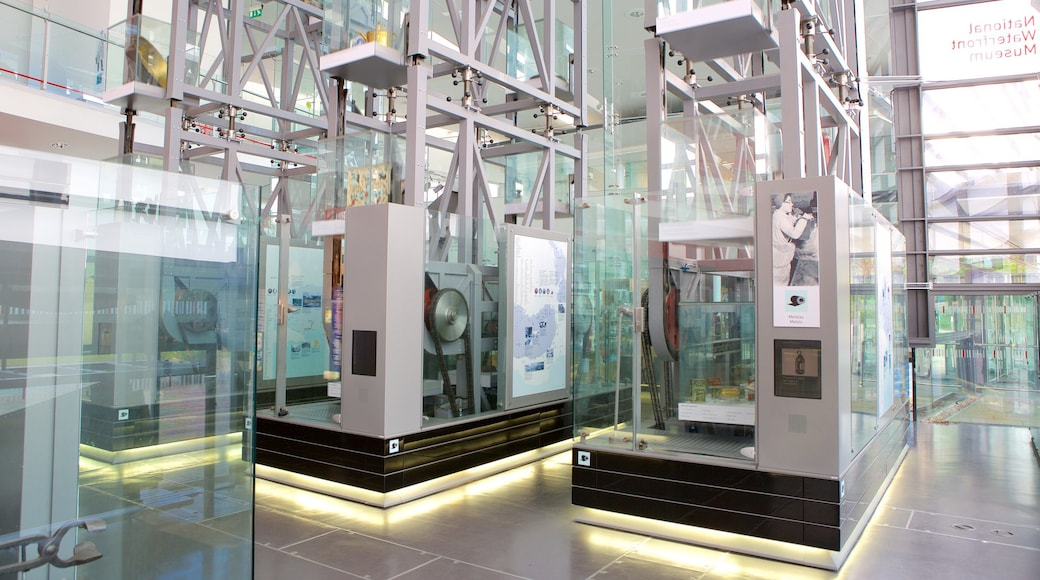 National Waterfront Museum featuring interior views