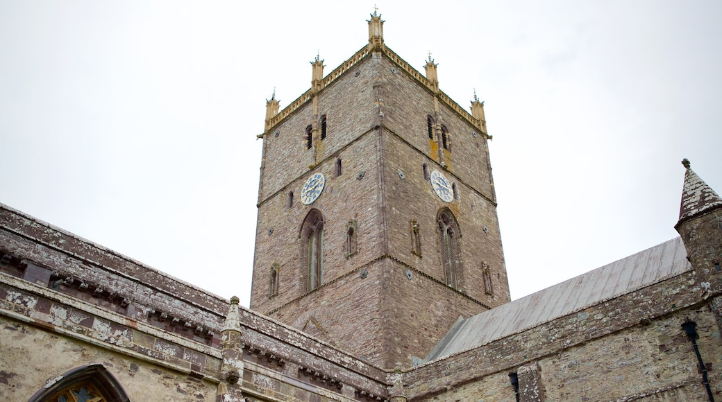 St Davids which includes heritage elements and a church or cathedral