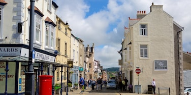 Conwy featuring street scenes