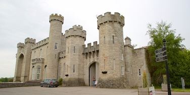 Bodelwyddan Castle das einen Geschichtliches und Burg