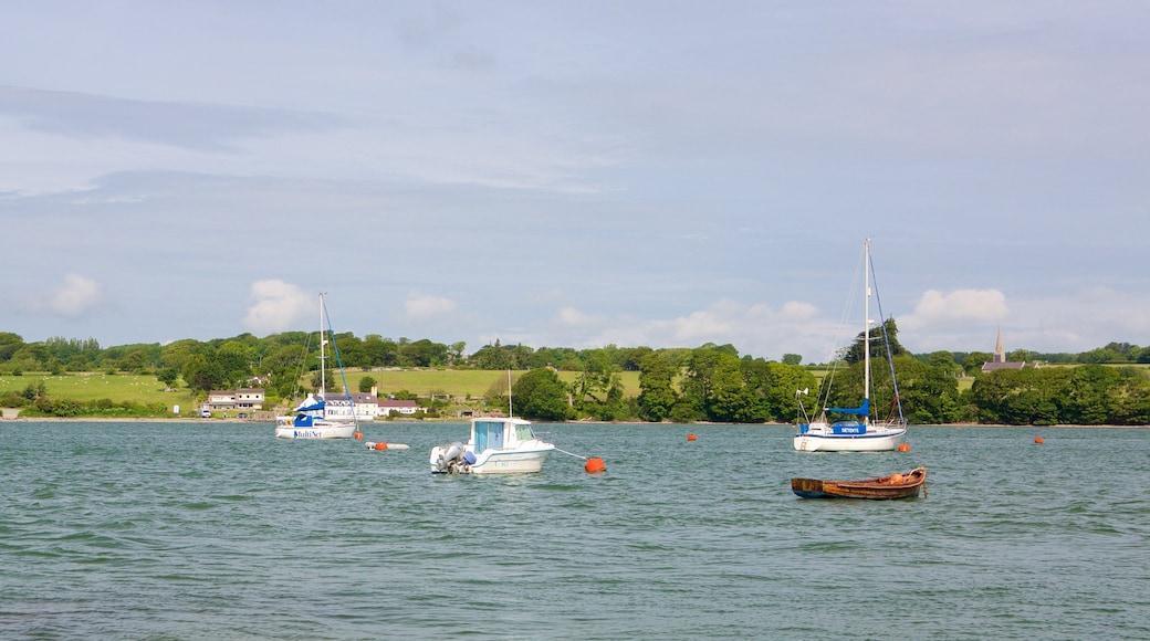 Y Felinheli featuring general coastal views, sailing and boating