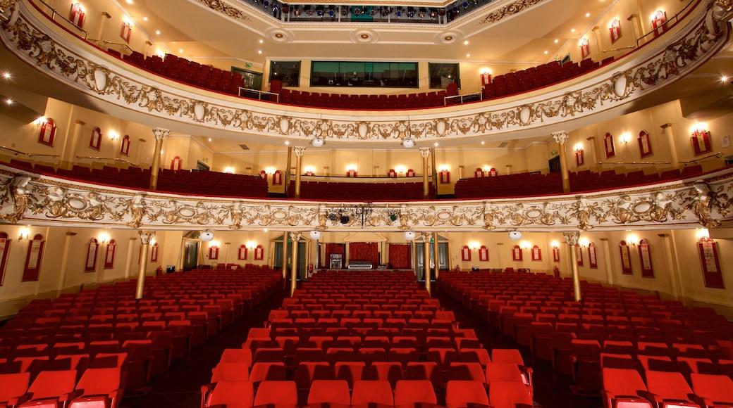 Grand Theatre which includes theatre scenes and interior views