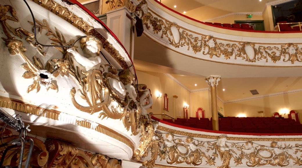 Grand Theatre featuring interior views and theatre scenes
