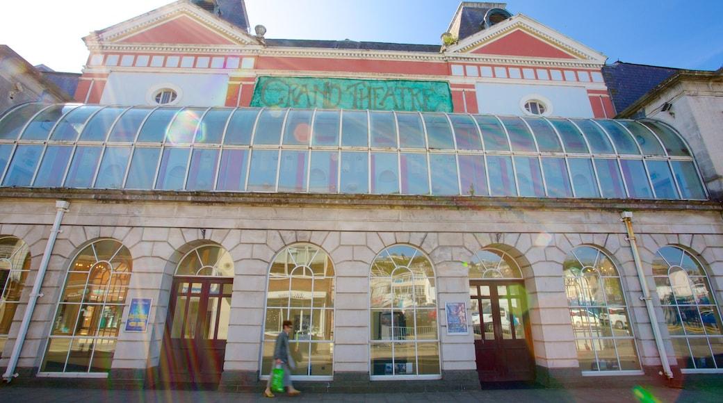 Grand Theatre featuring street scenes