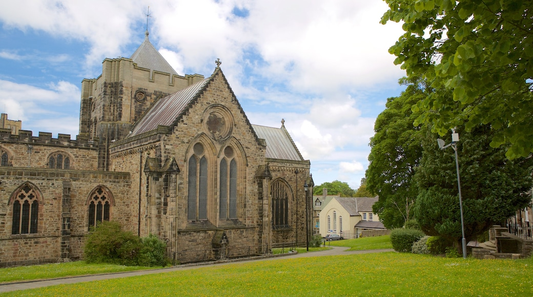 Bangor featuring a church or cathedral and heritage elements