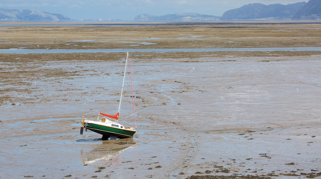 Bangor which includes a sandy beach and sailing