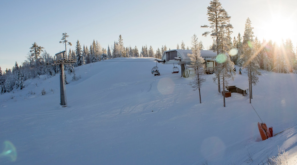 Branas Ski Resort which includes snow and a gondola