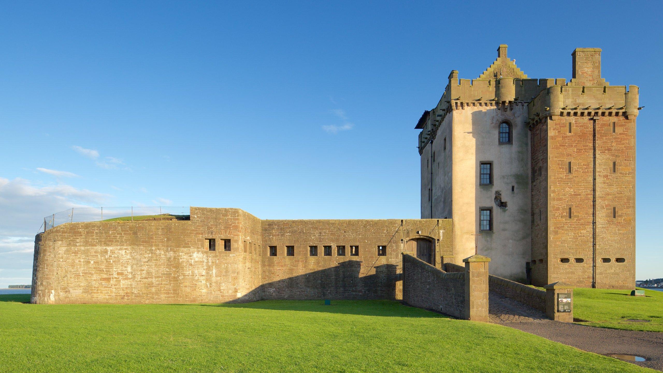 Broughty Castle, Dundee, Schottland, Großbritannien